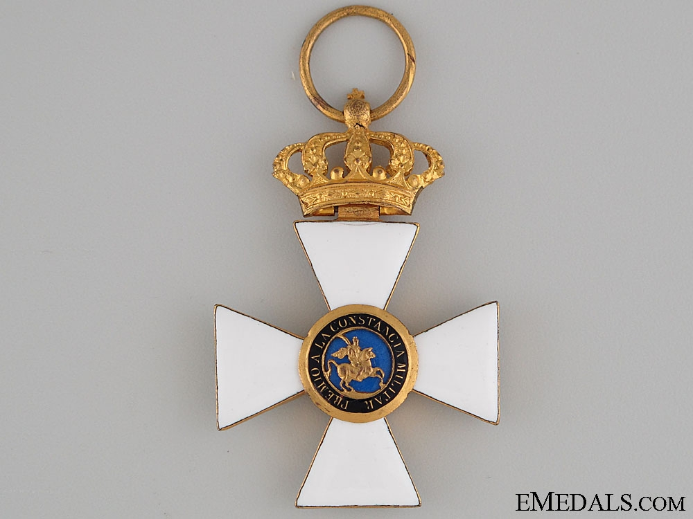 eMedals-Royal and Military Order of St. Hermenegildo , 1. model (1814-1871 and 1875-1931),