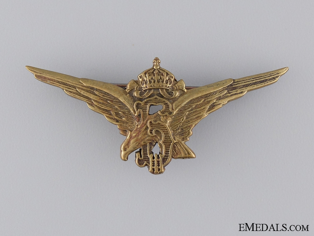 eMedals-Royal Bulgarian Pilot's Badge