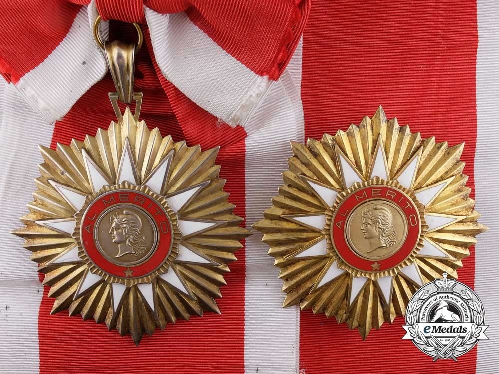 eMedals-An Argentinian Order of May; Grand Cross