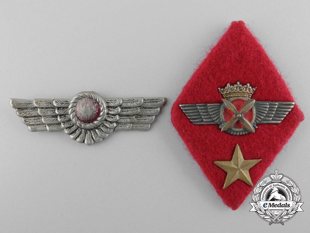 eMedals-Spanish Air Force Pilot's Insignia