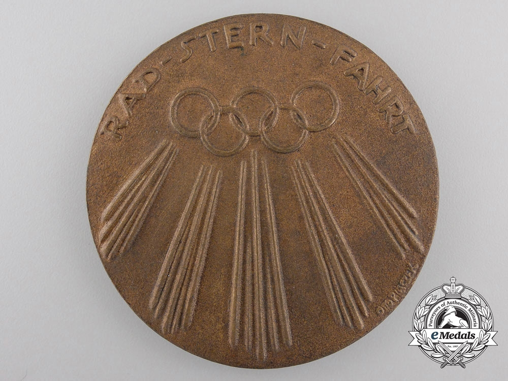 eMedals-A 1936 IX Olympic Summer Games Table Medal