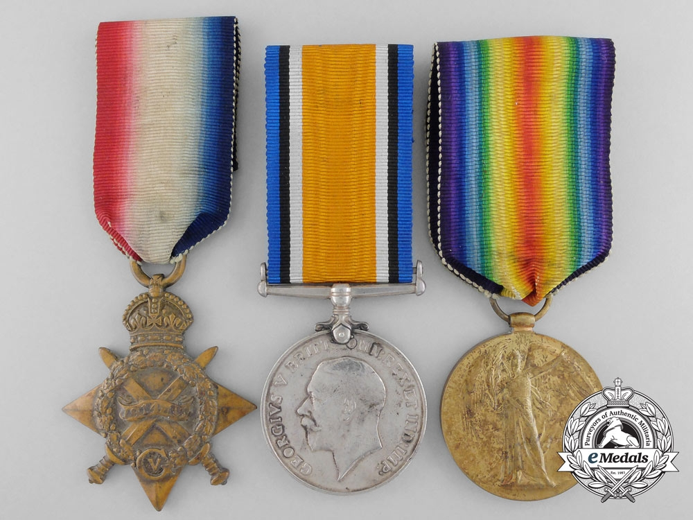 eMedals-A First War Medal Group to the 1st Canadian Mounted Rifles