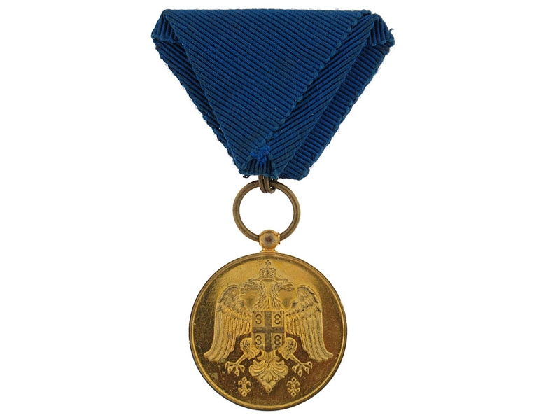 eMedals-Medal for Zeal, Gold Grade, 1913