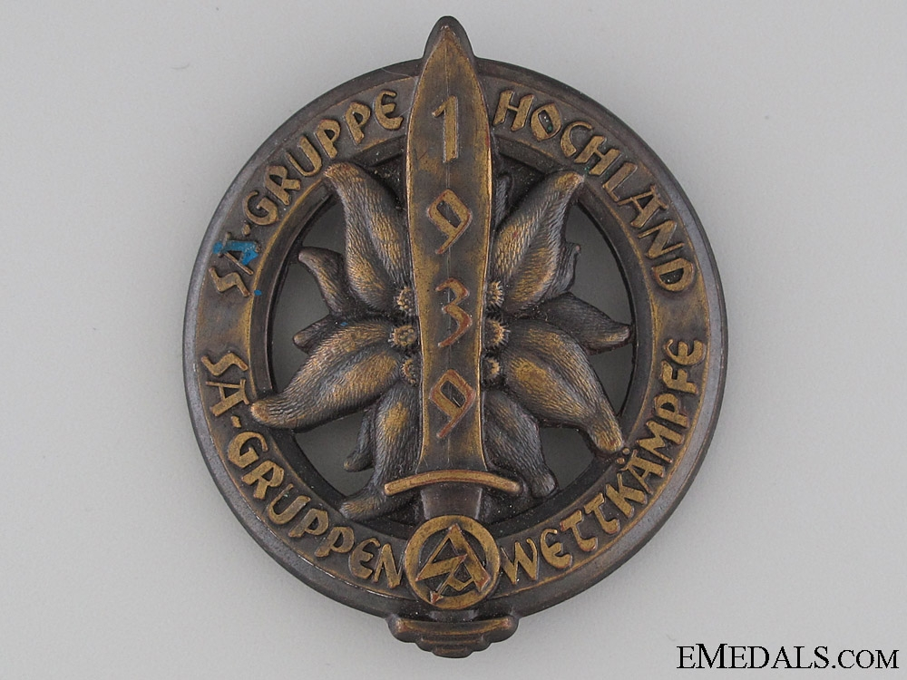 eMedals-SA Gruppe Hochland Day Badge