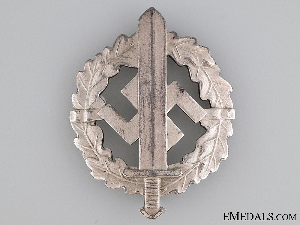 eMedals-SA Sports Badge, Silver Grade, Type II