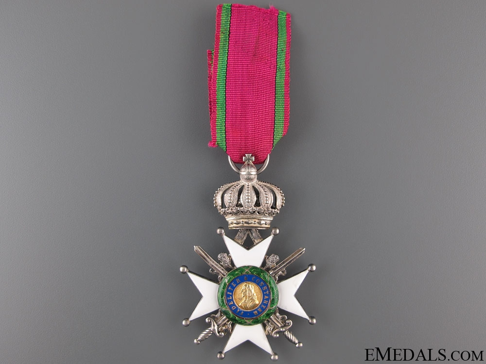 eMedals-Saxe-Ernestine House Order – Knight 2nd Class