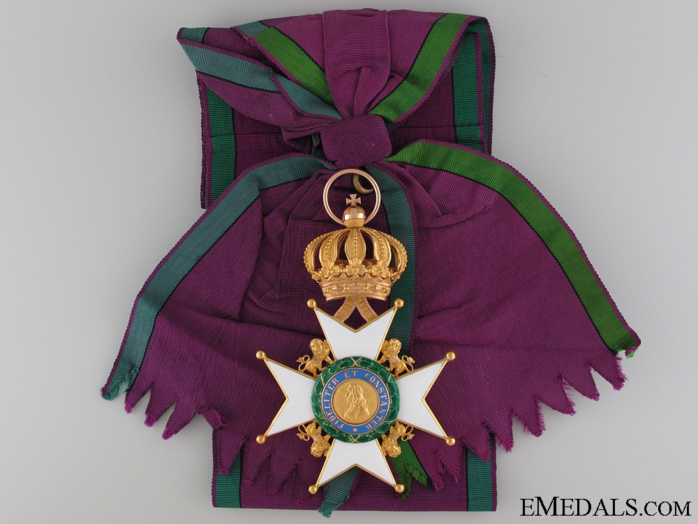 eMedals-A Saxe-Ernestine House Order in Gold; Grand Cross Badge