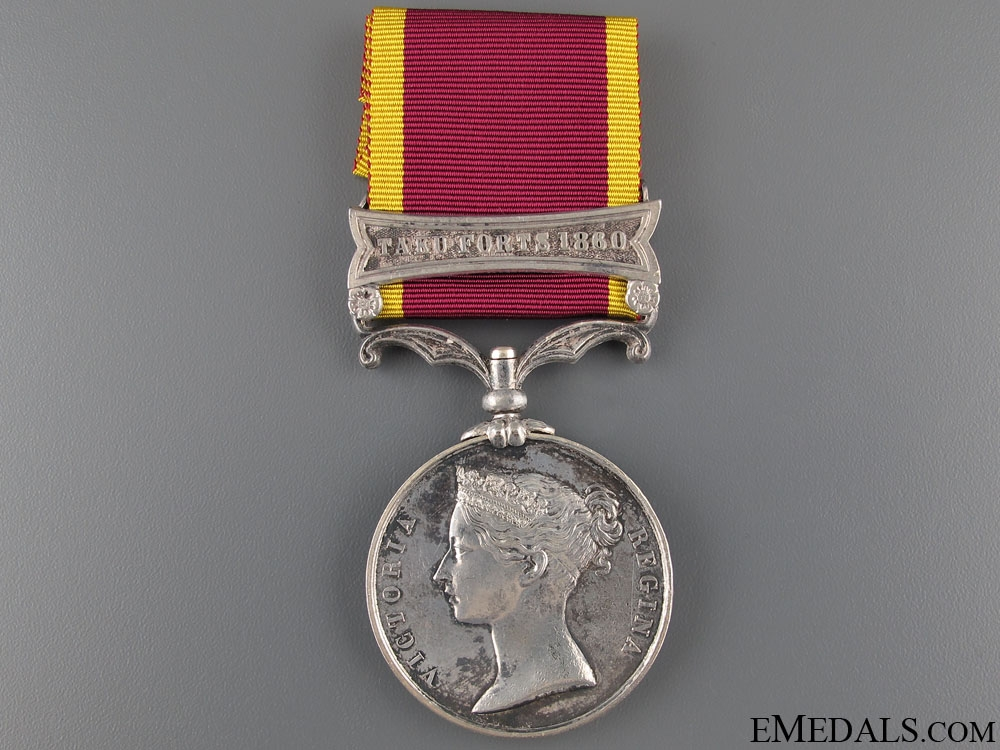 eMedals-Second China War Medal 1860 - HMS Pearl