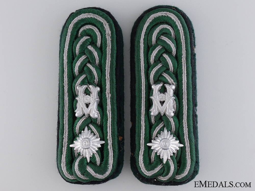 eMedals-Senior Officer of Army Construction Administration Shoulder Boards