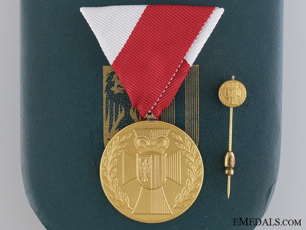 eMedals-Services to the State of Upper Austria Honour Medal