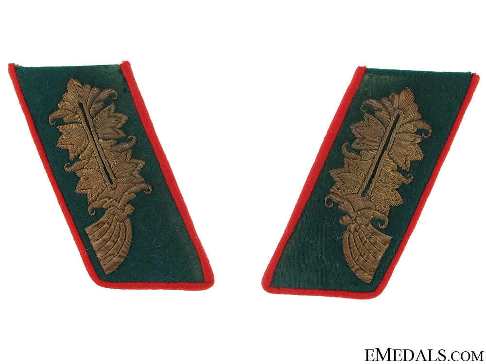 eMedals-Set of Army General's Collar Tabs