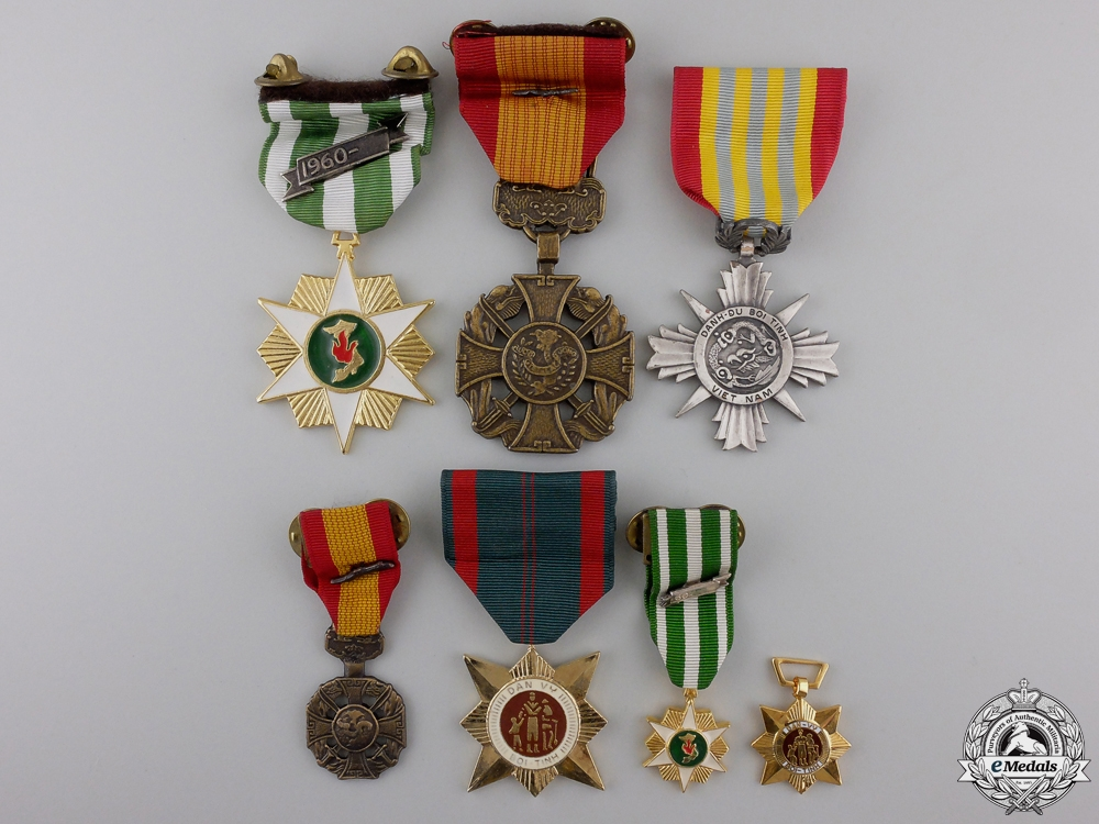 eMedals-Seven Vietnamese Medals and Awards