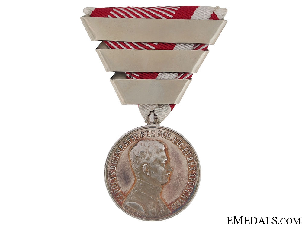 eMedals-Silver Bravery Medal 1st. Class – Emperor Karl