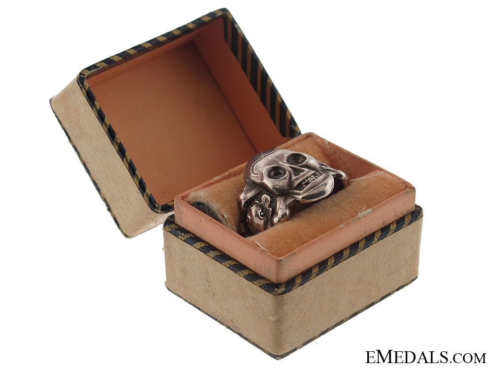 eMedals-Silver SS Ring in Case