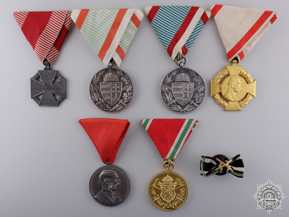 eMedals-Six European Awards, Medals, and Ribbons