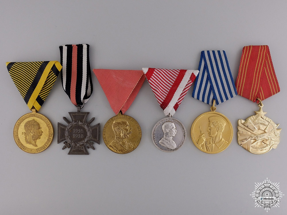 eMedals-Six European Medals and Awards