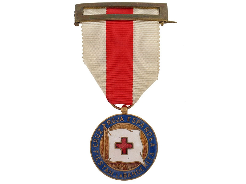 """eMedals-Red Cross """"Feast of the Flag"""" Medal"""