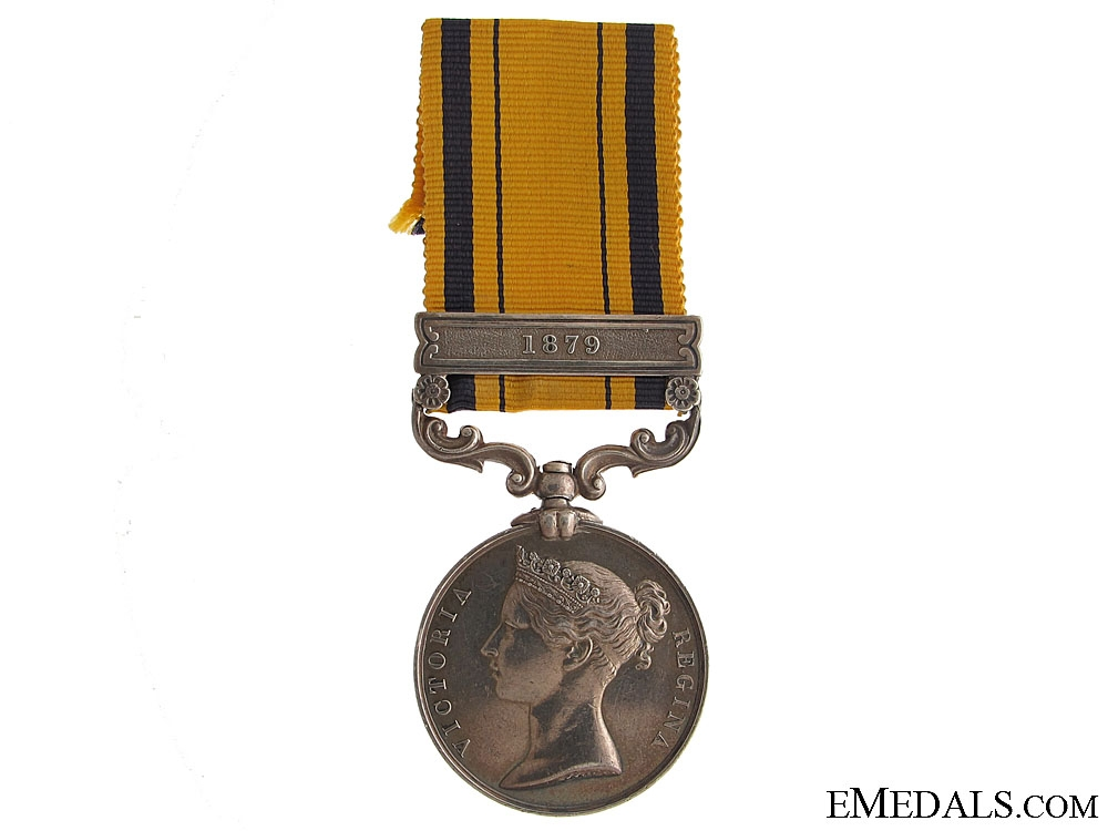eMedals-South Africa Medal 1879 - 99th Regiment