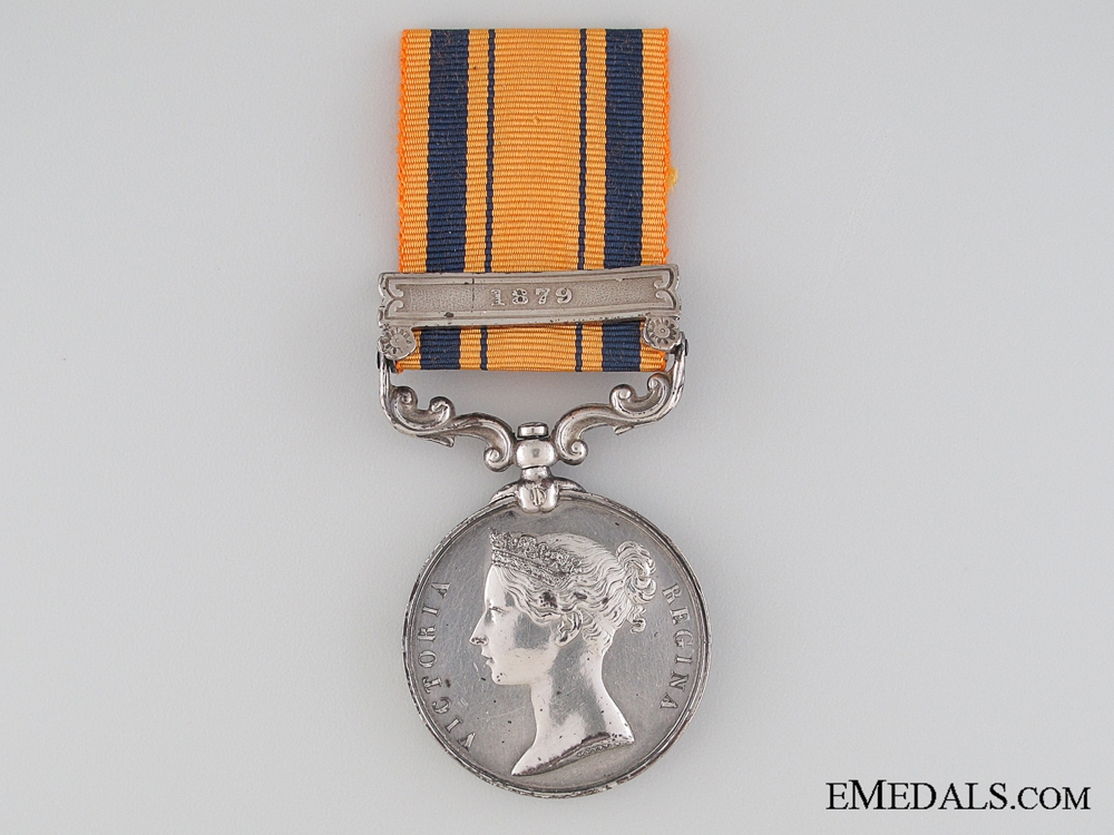 eMedals-South Africa Medal 1877-1879, Private J. Brady, 90th Regiment of Foot