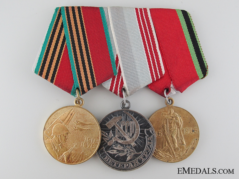eMedals-Soviet Armed Forces Group of Three