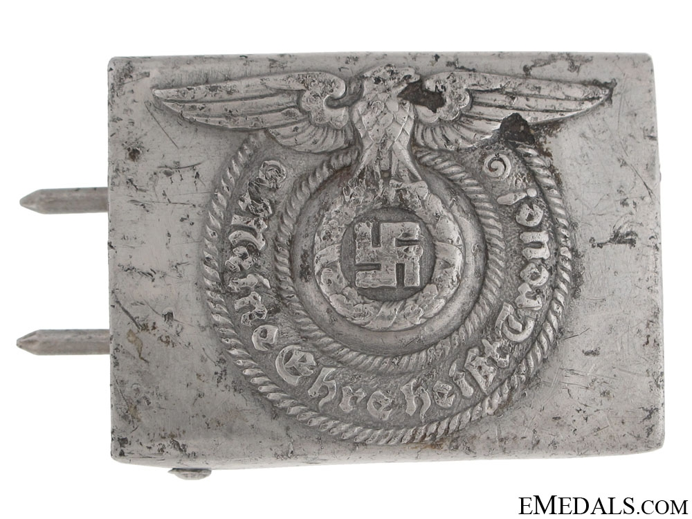 """eMedals-SS EM/NCO'S Buckle by """"RZM 36/39 SS"""