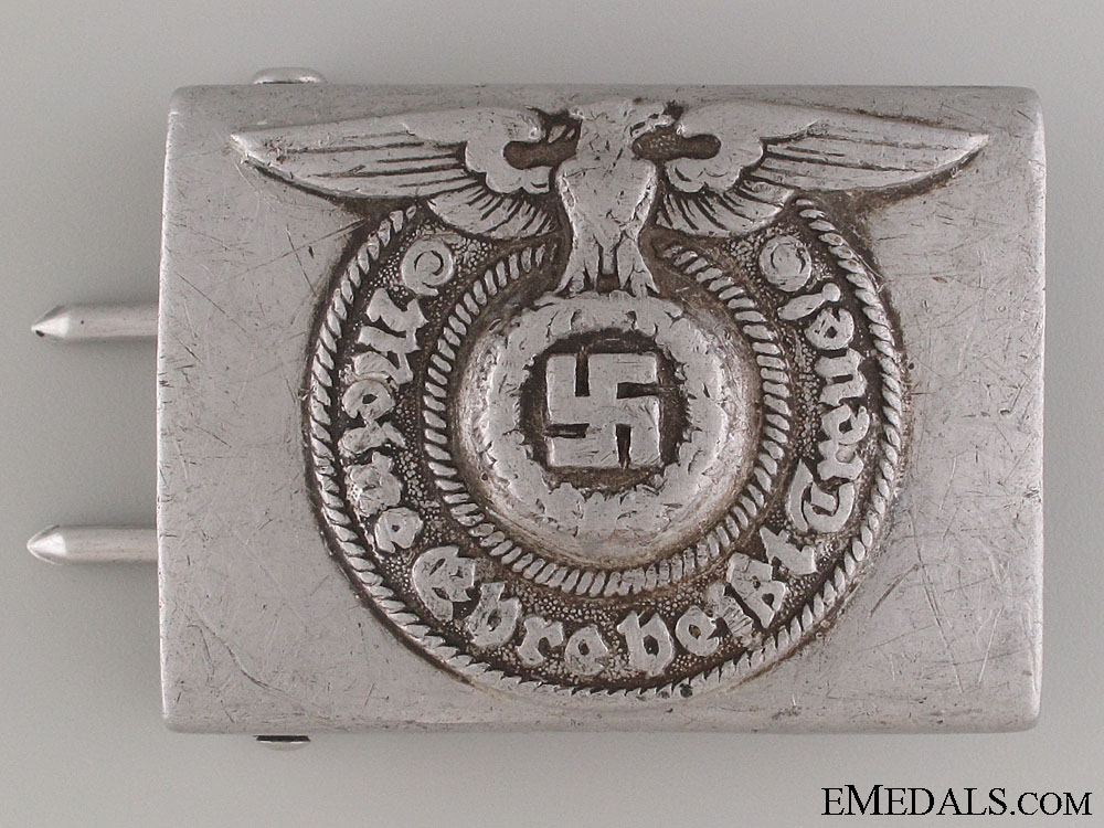 """eMedals-SS EM/NCO'S Buckle by """"RZM 822/38 SS"""""""