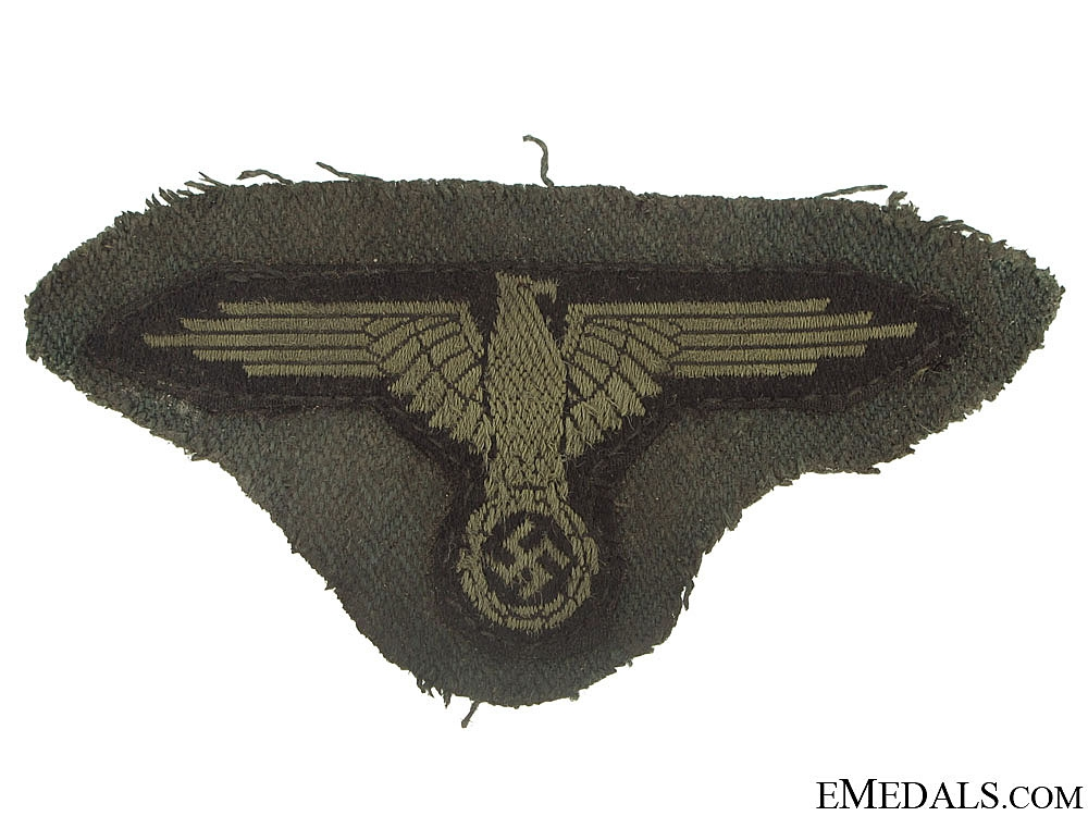 eMedals-SS EM/NCO's Sleeve Eagle with Piece of Tunic