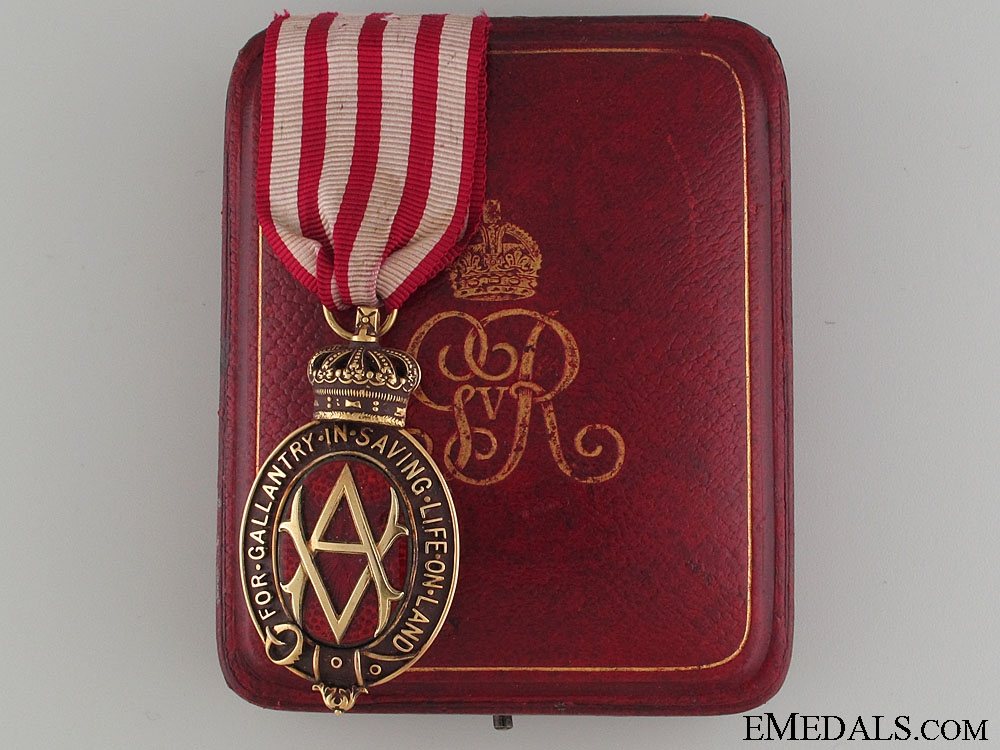 eMedals-The Albert Medal in Gold for Gallantry