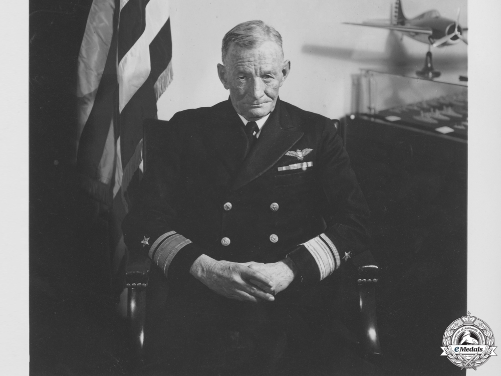 eMedals-The Awards of Admiral John McCain who Orchestrated Guadalcanal
