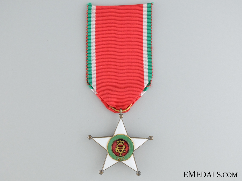 eMedals-The Colonial Order of the Star of Italy; Knight's Badge
