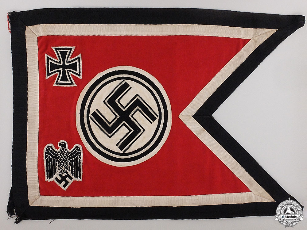 eMedals-The Command Flag of the Chief of the High Command Wilhelm Keitel