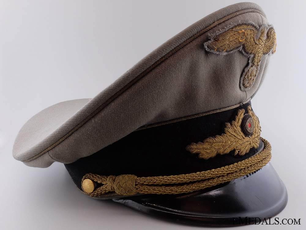 eMedals-The Diplomatic General's Visor Cap of Otto Bene