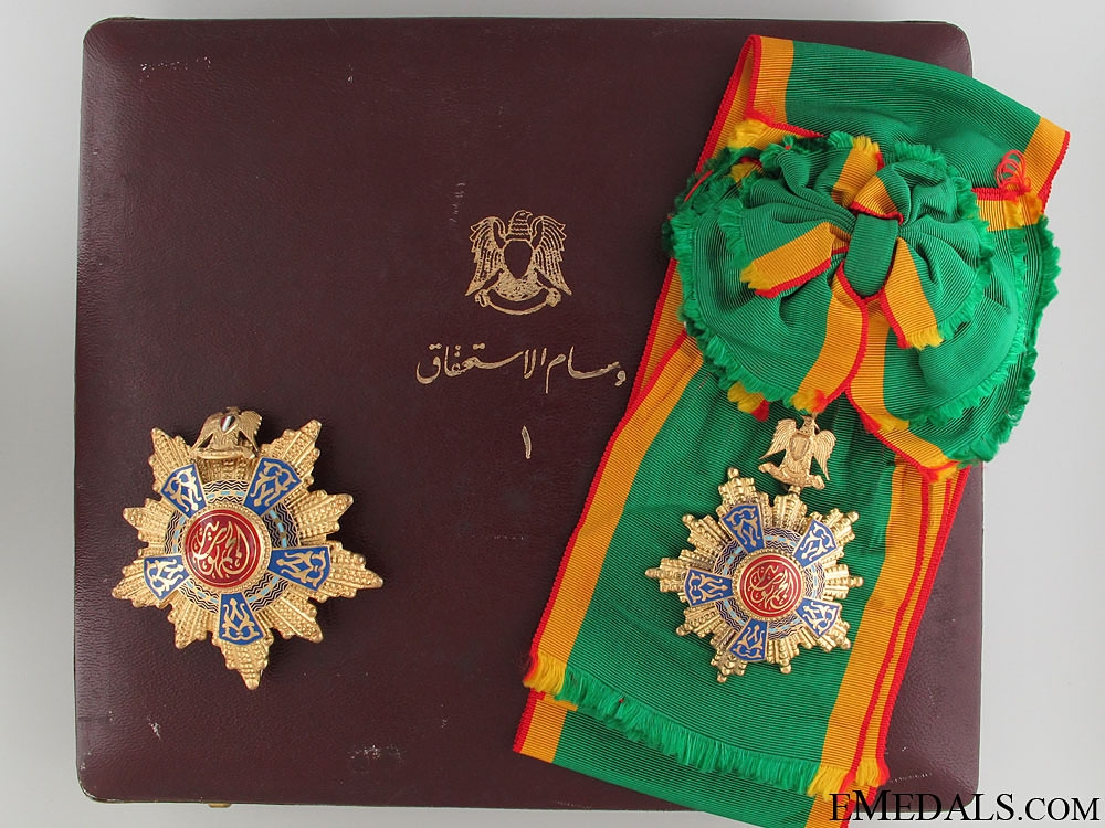 eMedals-The Egyptian Order of the Republic - Grand Cross