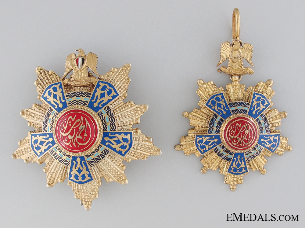 eMedals-The Egyptian Order of the Republic; Grand Cross Set
