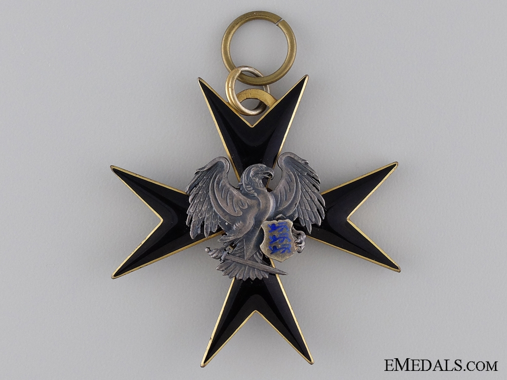 eMedals-The Estonian Order of the Eagle Cross; Fifth Class