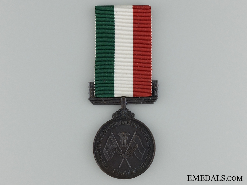 eMedals-The International Commission for Supervision & Control Indo China Medal
