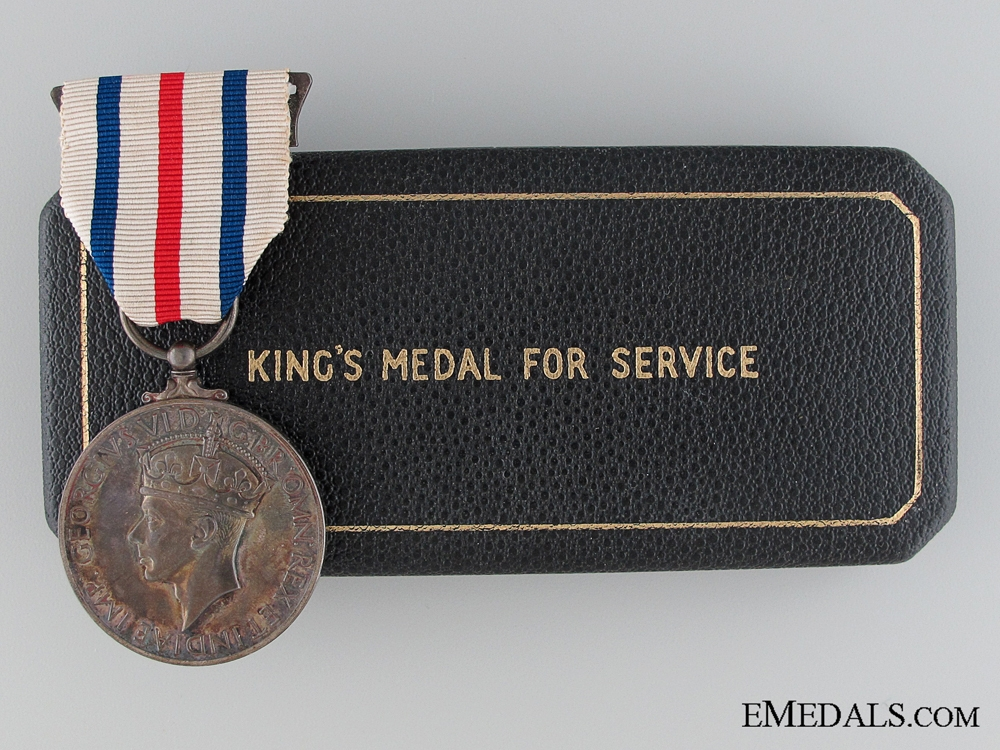eMedals-The King's Medal for Service in the Cause of Freedom