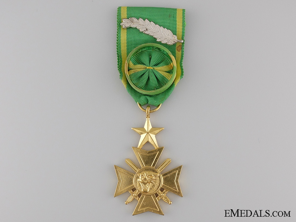 eMedals-The Military Cross of Zaire; Officer
