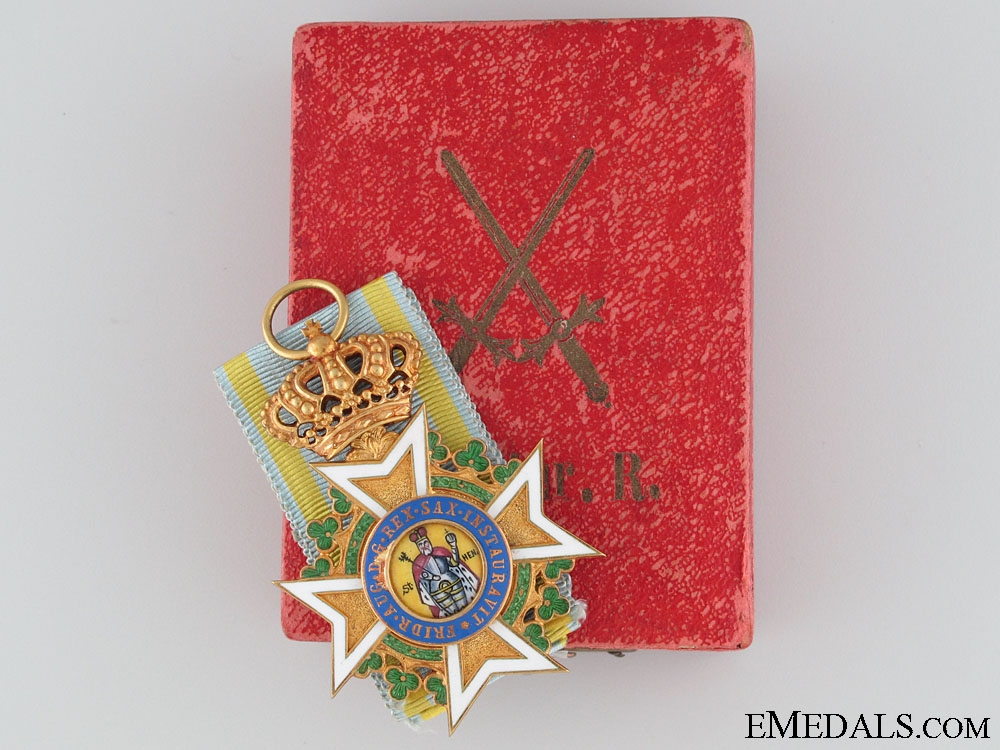 eMedals-The Military Order of St.Henry in Gold c.1905