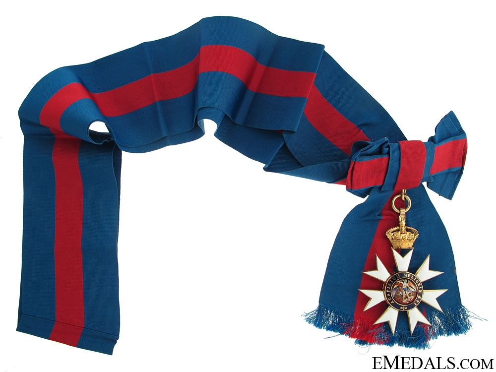 eMedals-The Most Distinguished Order of St. Michael and St. George