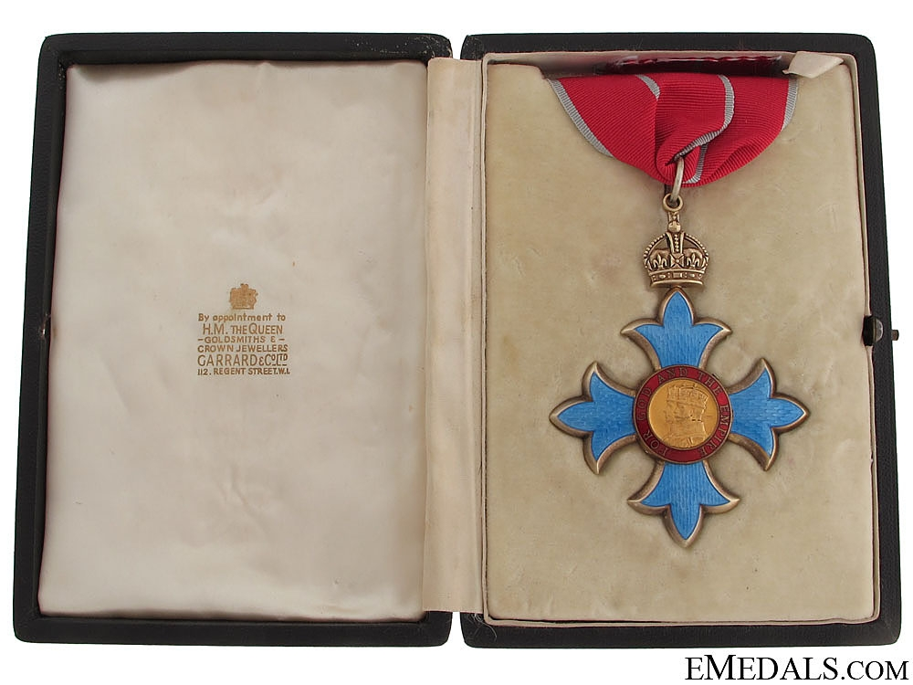 eMedals-The Most Excellent Order of the British Empire