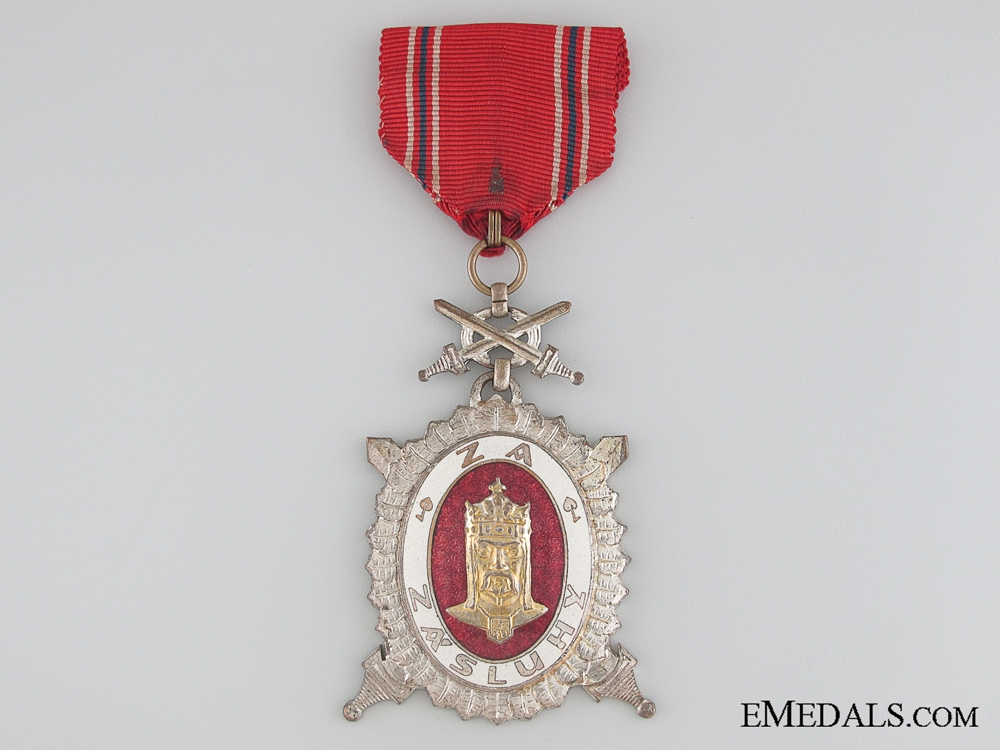 eMedals-The Order of Charles IV - Second Class