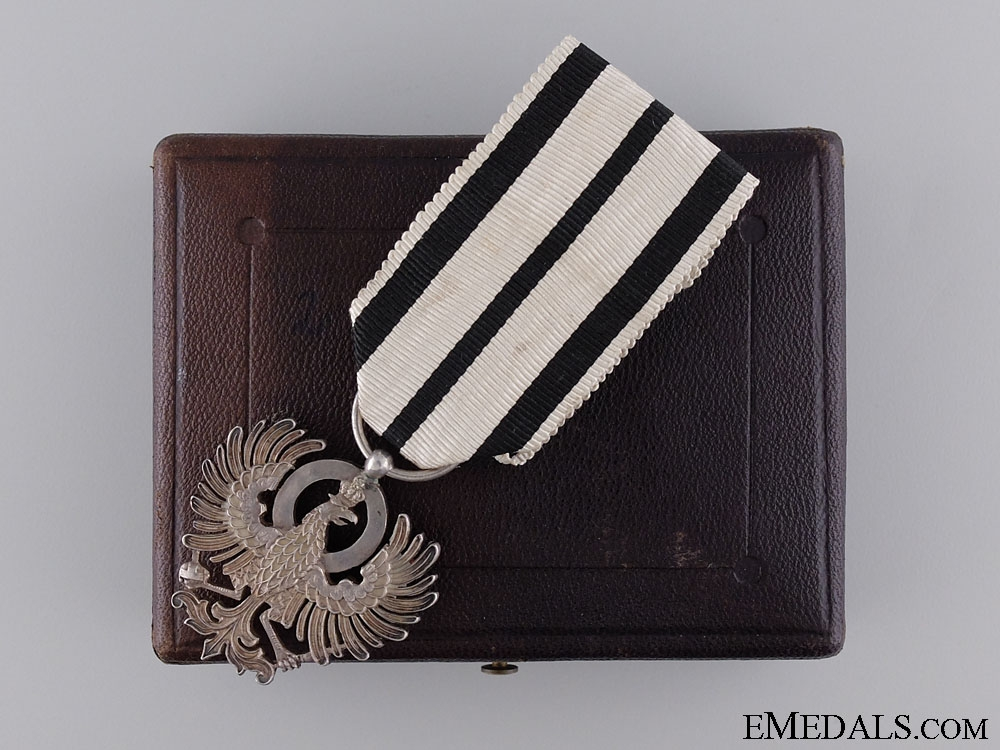 eMedals-The Order of Hohenzollern in Case of Issue
