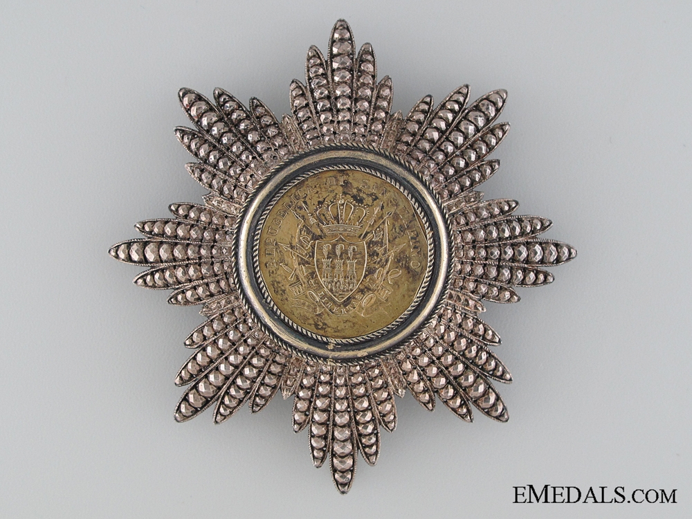 eMedals-The Order of Military Merit of San Marino; Breast Star