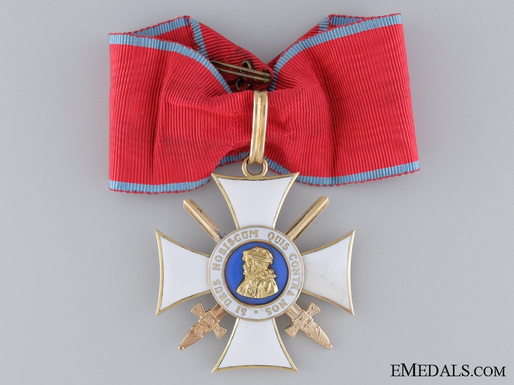 eMedals-The Order of Philip the Magnanimous with Swords, in Gold
