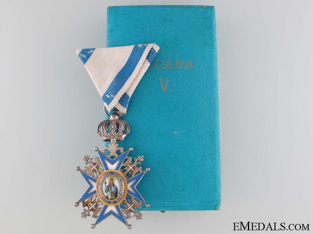 eMedals-The Order of St. Sava 1921-1941