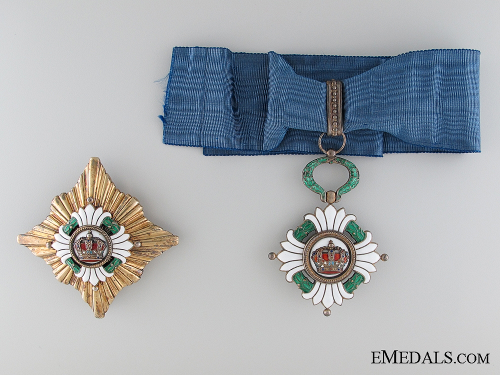 eMedals-The Order of the Yugoslav Crown; 2nd Class Set