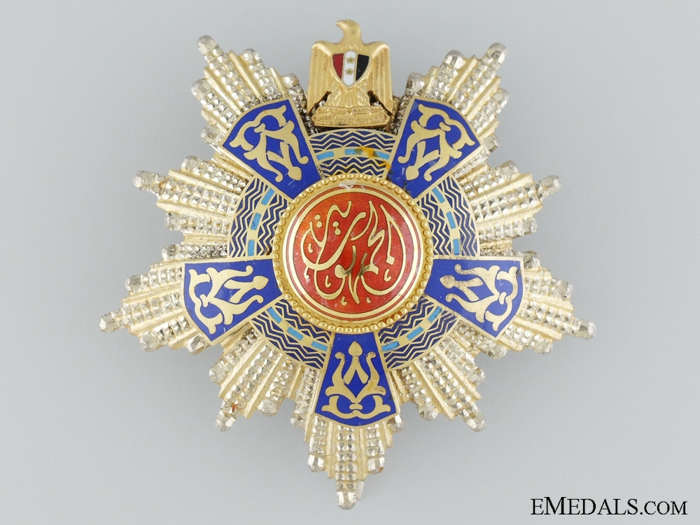 eMedals-The Order of the Egyptian Republic; Type II by Bichay, Cairo