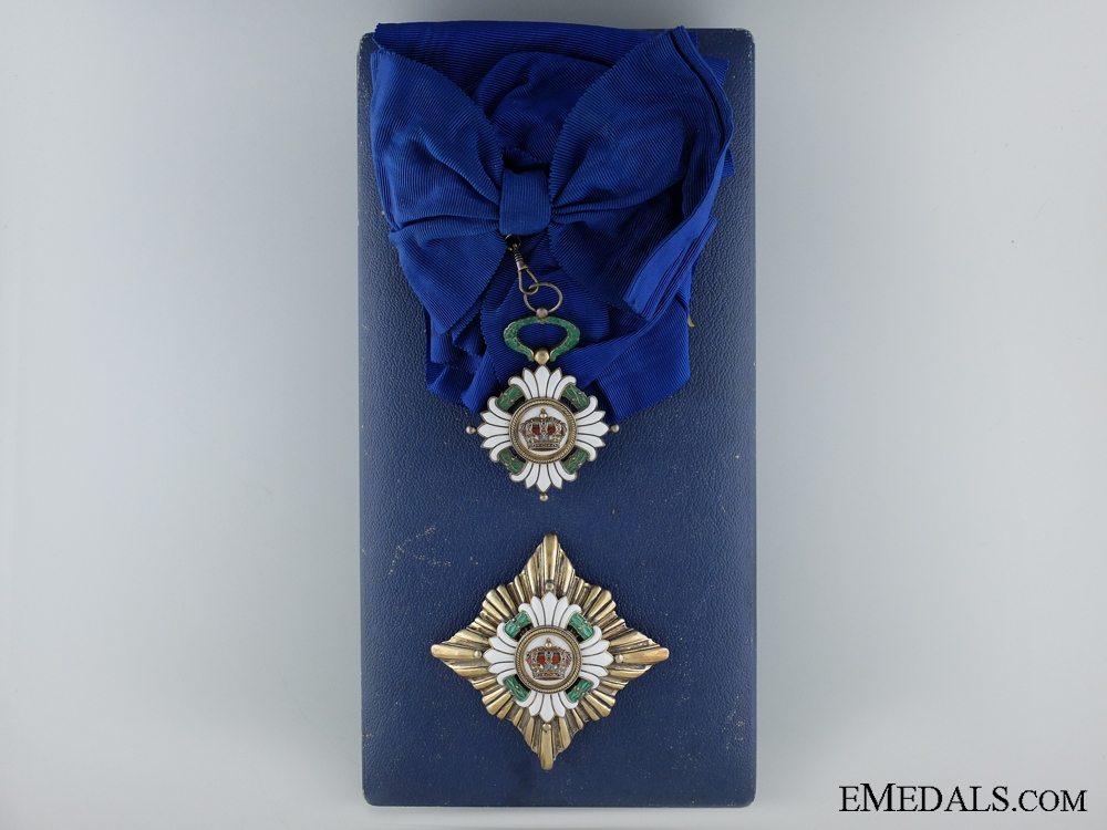 eMedals-The Order of the Yugoslavian Crown; Grand Cross