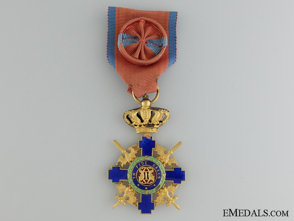 eMedals-The Order of the Star of Romania; Second War Period Issue